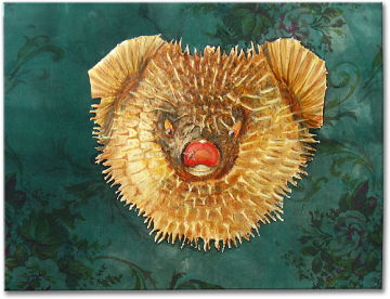 """Echinus"", oil on canvas - 44 x 62 cm, 2007"
