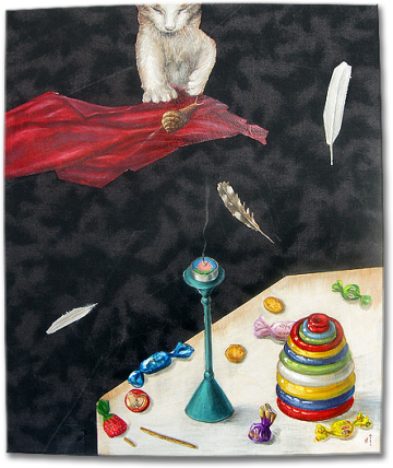 """Sugar"", oil on canvas - 60 x 50 cm, 2010"